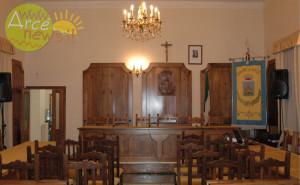 La sala consiliare Antonio Renzi
