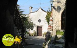 La chiesa di santa Maria nel centro storico di Arce - foto Arcenews2003