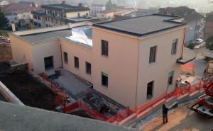 La struttura dell'ex Onmi dove sono in corso i lavori di ristrutturazione