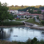 Un'immagine del laghetto Solfatara di Fontana Liri