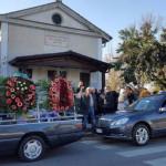 Alcuni momenti del funerale - foto Ciociariaoggi.it